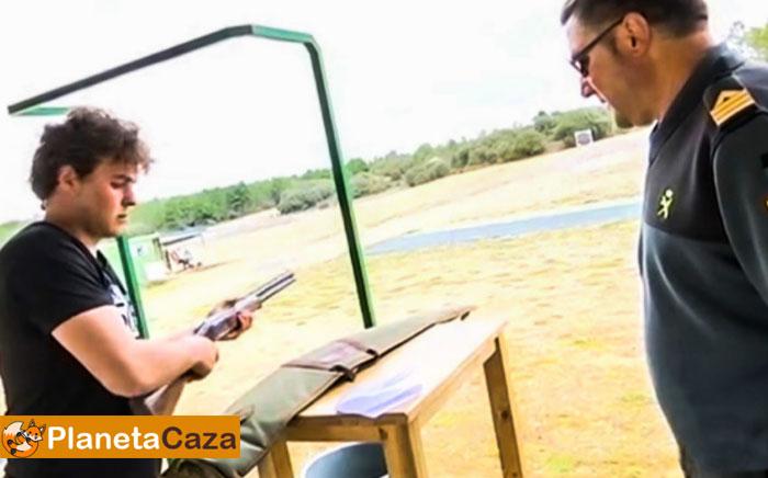 examen licencia de armas